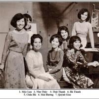 Mộc Lan, Như Thủy, Thái Thanh, Hà Thanh, Châu Hà, Mai Hương và Quỳnh Giao