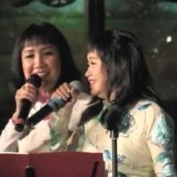 Quỳnh Giao và Hoàng Oanh đang song ca bài Thu Vàng (Cung Tiến)