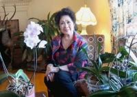 Nghệ sĩ Tâm Vấn đang thăm thân nhân tại Mỹ