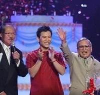 MC Nam Lộc, ca sĩ Ðặng Thế Luân, nhạc sĩ Anh Bằng