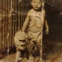 Nhạc sĩ Lam Phương năm ba tuổi