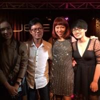 Ái Phương, Quốc Bảo, Hà Trần, Nguyên Hà ở We, đêm 1/9/2014