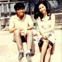 Trường Kỳ và Kiều Chinh thời 1960-70. (Hình: Kiều Chinh cung cấp)