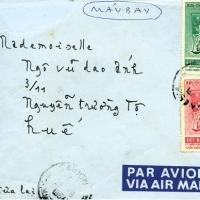 Bì thư gửi về Huế