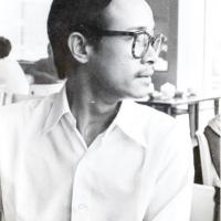 Trịnh Công Sơn trong một quán cà phê sinh viên
