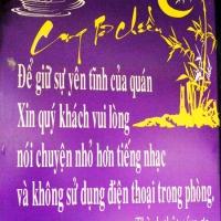 Quán cafe Cung Tơ Chiều